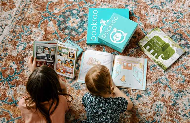 Bookroo Book Subscriptions For Kids