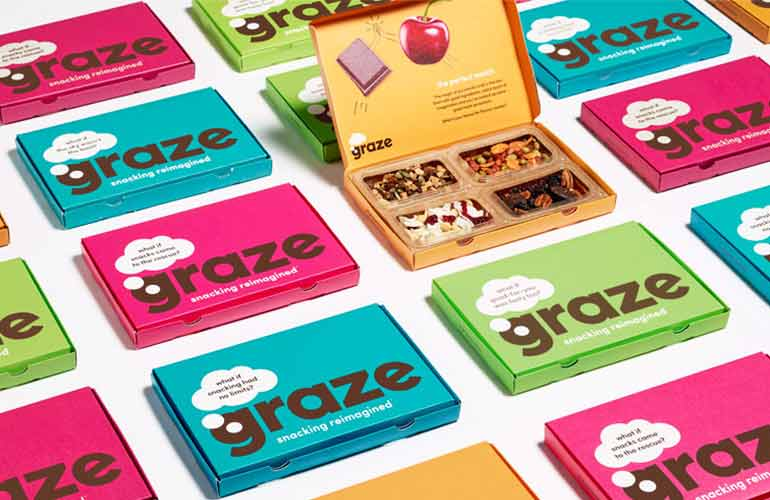 Graze Snack Box Food And Snacks Subscription Box