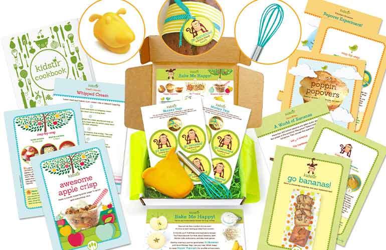 Kidstir Cooking Kit Subscription For Kids