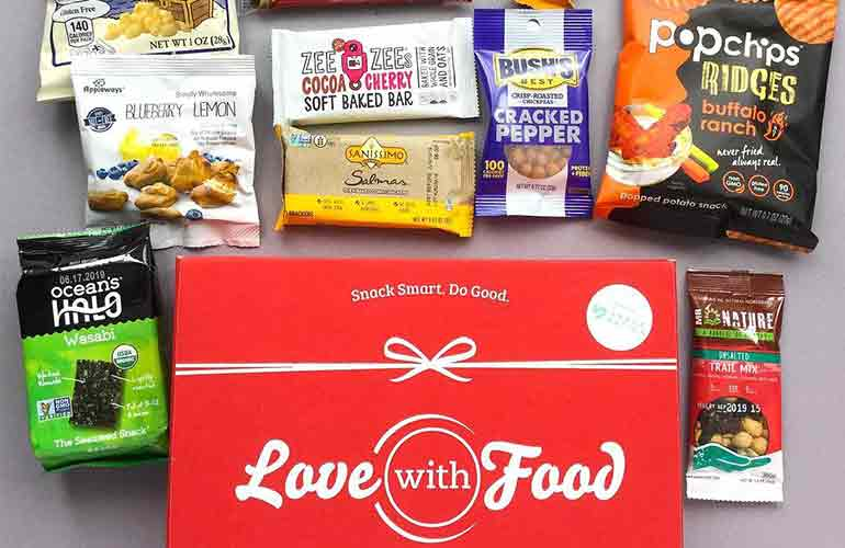 Love With Food Snack Box