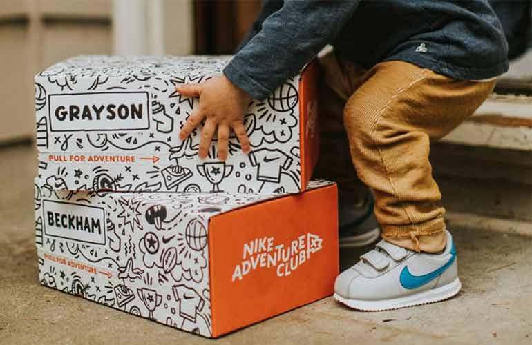 Nike Adventure Club Subscription Box For Kids