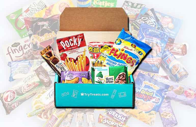 Treats Snack Box