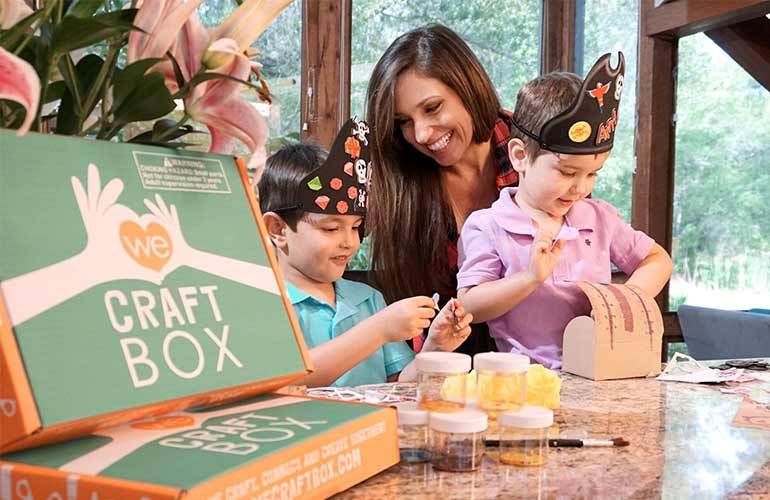 We Craft Box Subscription For Kids