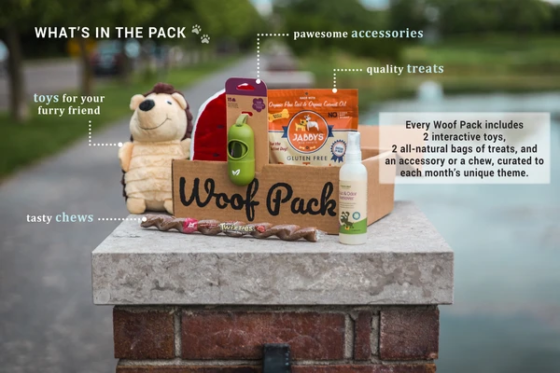 woof pack subscription dog for dogs