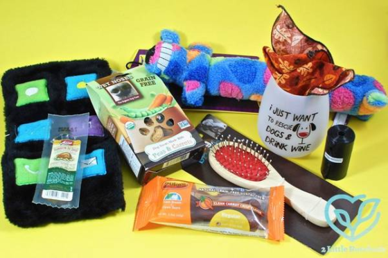 Wigglebutt box subscription box for pets