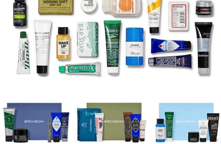 BirchBox Shaving And Grooming Subscription Box