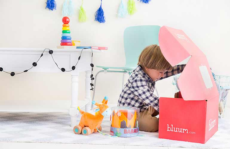 Bluum Subscription Box For Babies And Toddlers
