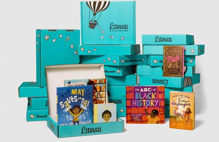 Literati Book Subscriptions For Kids