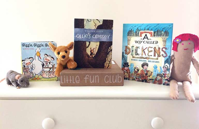 Little Fun Club Book Subscriptions For Kids