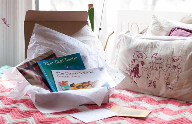 Momo's Book Club Subscription Box