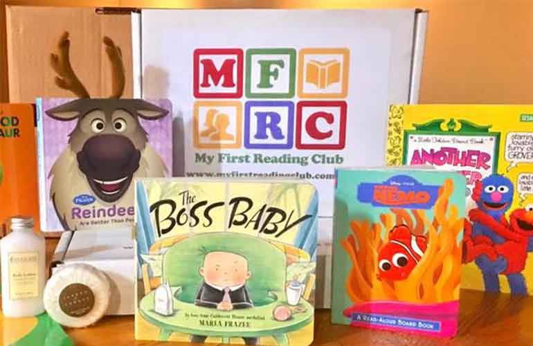 My First Reading Club Subscription Box For Kids