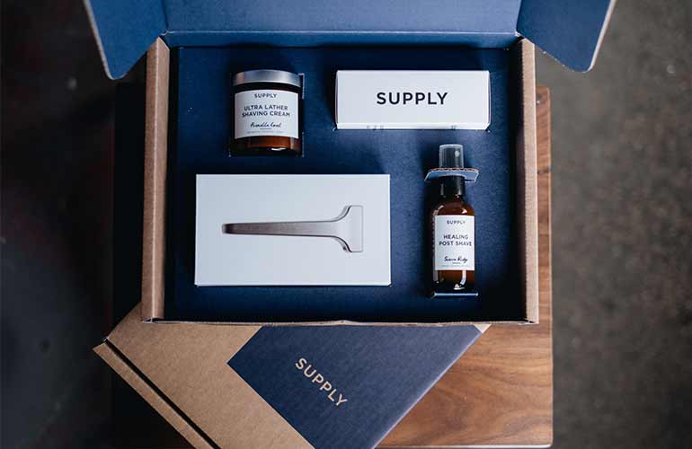 Supply Shaving And Grooming Subscription Box