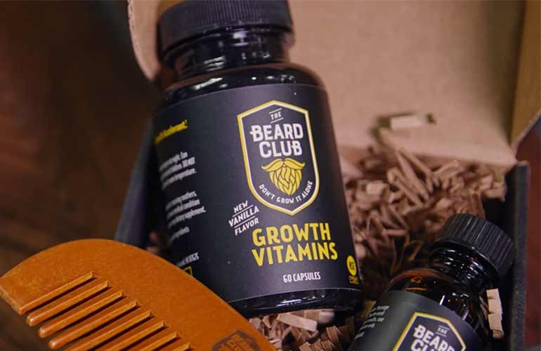 The Beard Club Shaving And Grooming Subscription Box