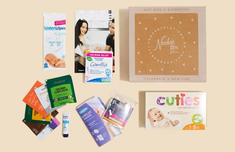 Noobie Box Subscription Box For Babies And Toddlers