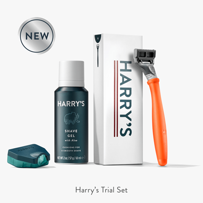 Harry's subscription box for men