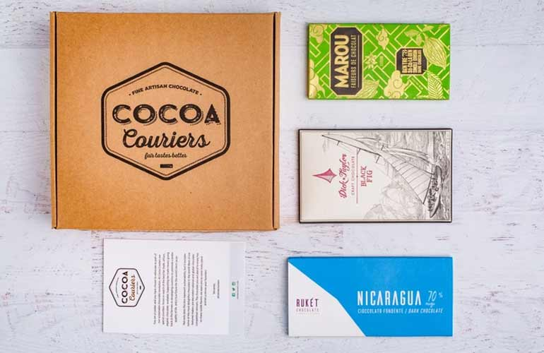 Cocoa Couriers Chocolate Subscription Box