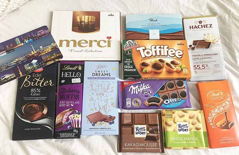 German Chocolate Box Chocolate Subscription Box