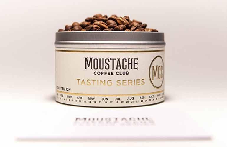 Moustache Coffee Club Subscription Box