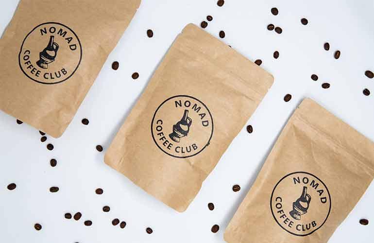 Coffee Subscription Box - Nomad Coffee Club