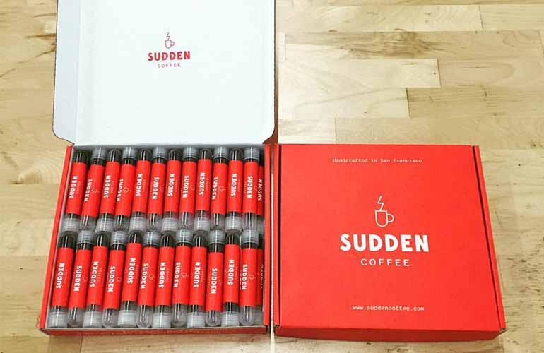 Sudden Coffee Subscription Box
