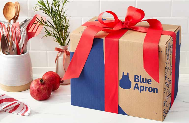 Blue Apron Wine Subscription Box