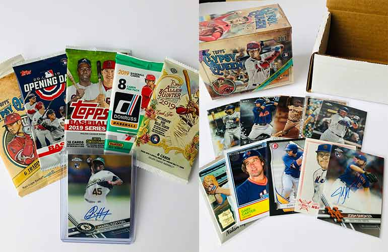 Baseball Cards Of The Month Club Subscription Box For Baseball Sports Fans