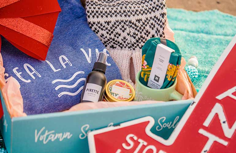 Beachly Subscription Box For Beach Sports Fans