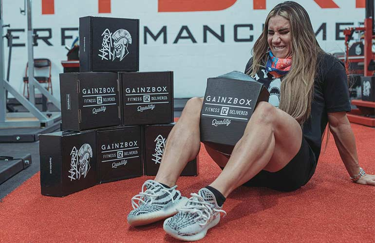 Gainz Box Fitness Subscription Box For Sports Fans