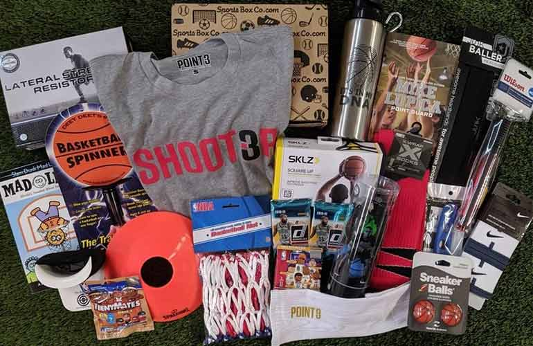 Hoops Box Basketball Subscription Box For Sports Fans