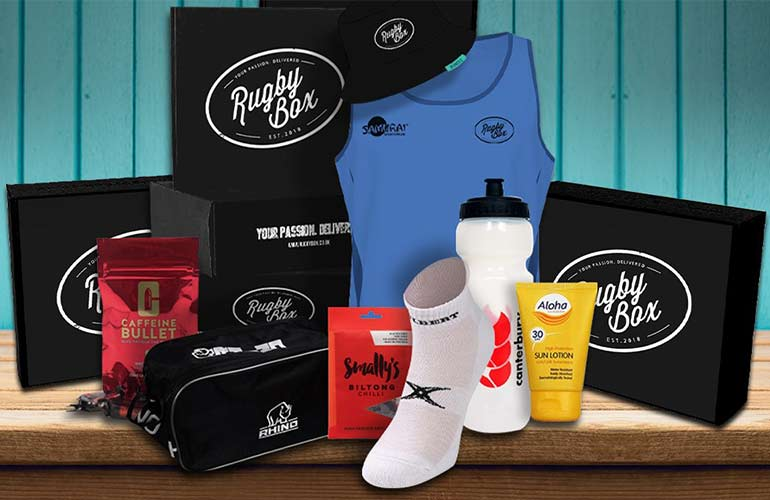 Rugby Box Subscription Box For Sports Fans