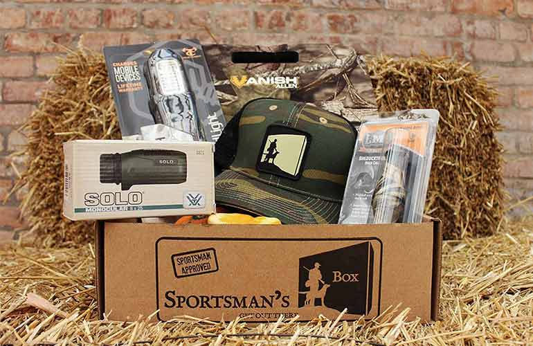 Sportsman's Box Fishing and Hunting Subscription Box For Sports Fans