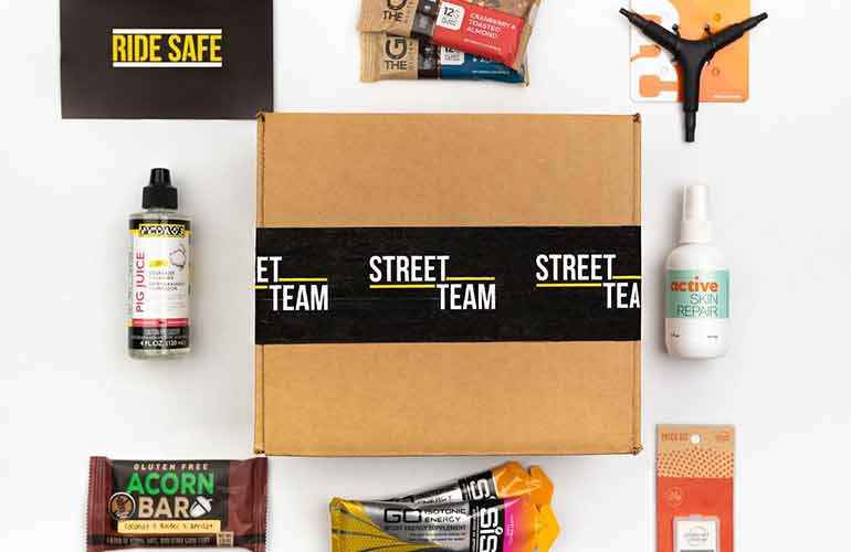 Street Team Cycling Subscription Box For Sports Fans