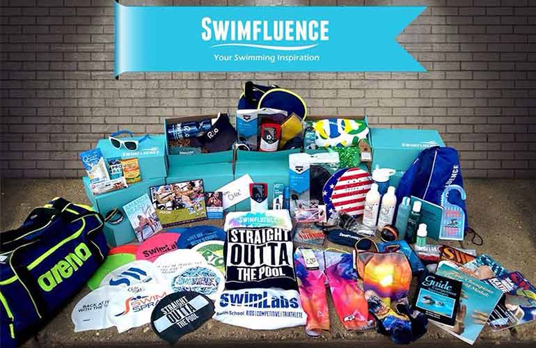 Swimfluence Swimmers Subscription Box For Sports Fans