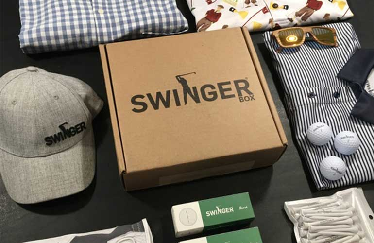 Swinger Box Golf Subscription Box For Sports Fans