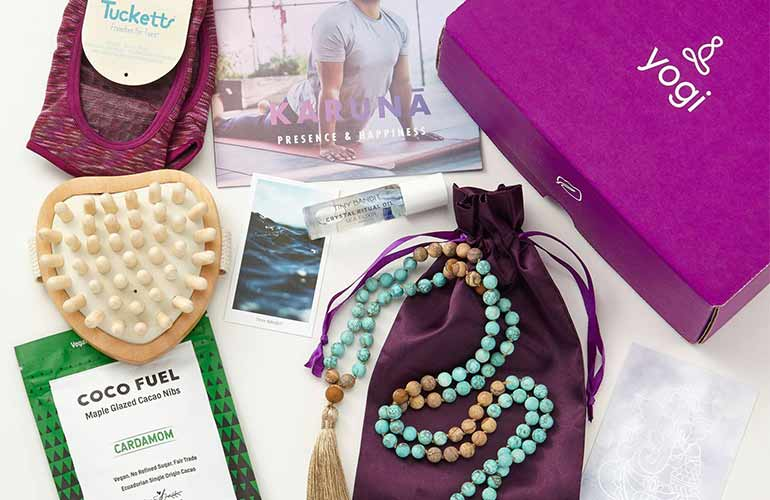 Yogi Surprise Subscription Box For Yoga Fans