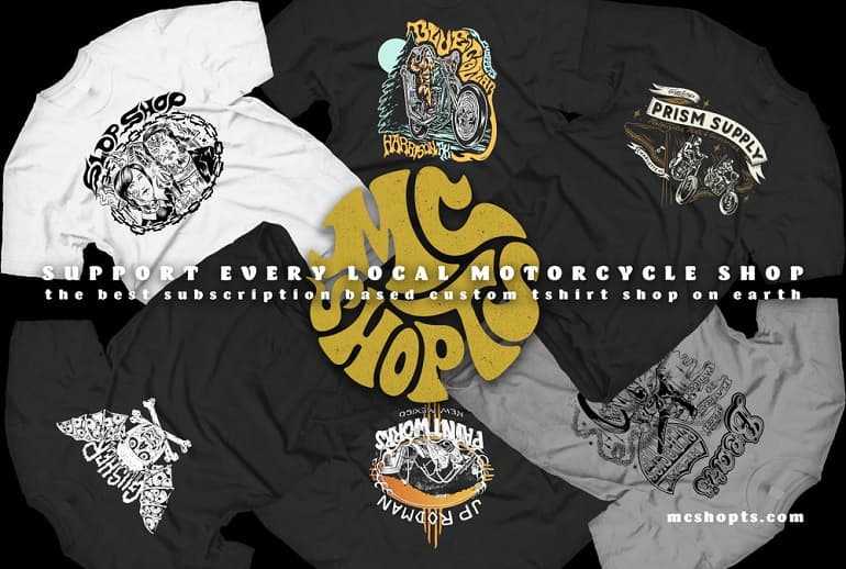 Motorcycle Shop T's