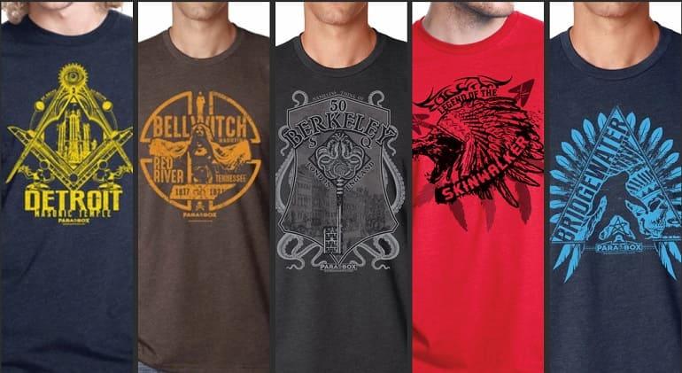 Para Box T-Shirts