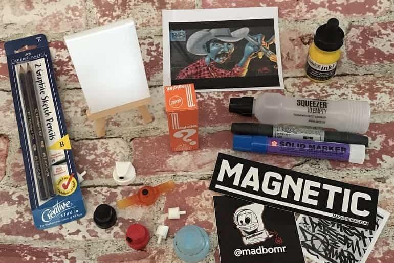 Madbomr Graffiti Box